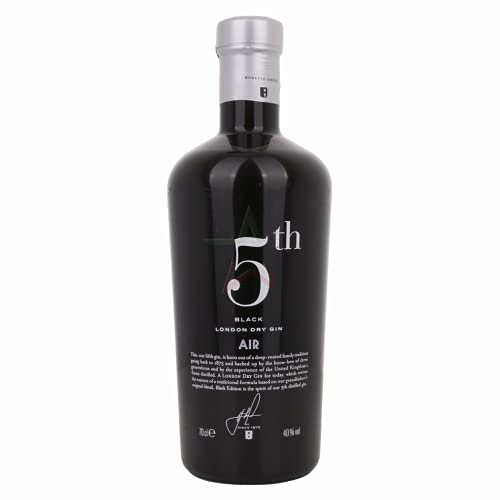 5th AIR Black London Dry Gin 40,00{7fa51788c8ce9129928c999e9648f36447561e730a7d051f38df624a07fb8c91} 0,70 lt.