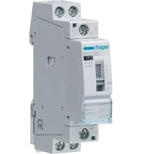 Hager-Contacteur Erc225 manuel 25a 2na 230 V