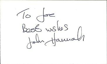 John Hannah Actor The Mummy Signed 3