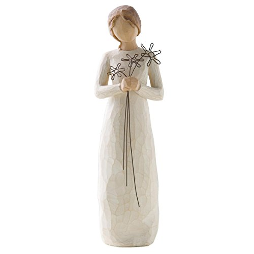 Willow Tree 26147 Figur Dankbarkeit, 3,8 x 3,8 x 22,9 cm