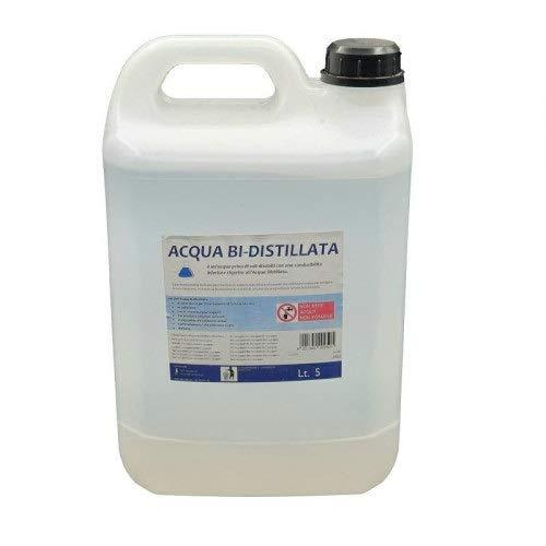 Acqua Bidistillata Tanica 5 litri