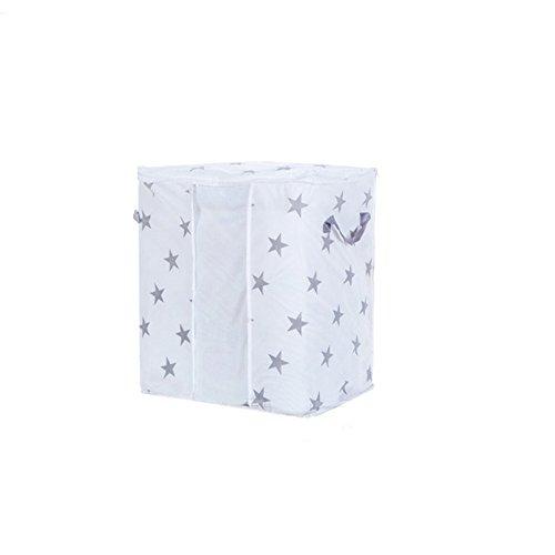 OSYARD 1 Stück Aufbewahrungstasche für Bettdecken und Kissen - Kleidung Lagerplätze, Decken Organisator Lagerbehälter, Haus bewegen Tasche Feuchtigkeit Geschützt 42 * 27 * 50cm/60 * 43 * 36cm