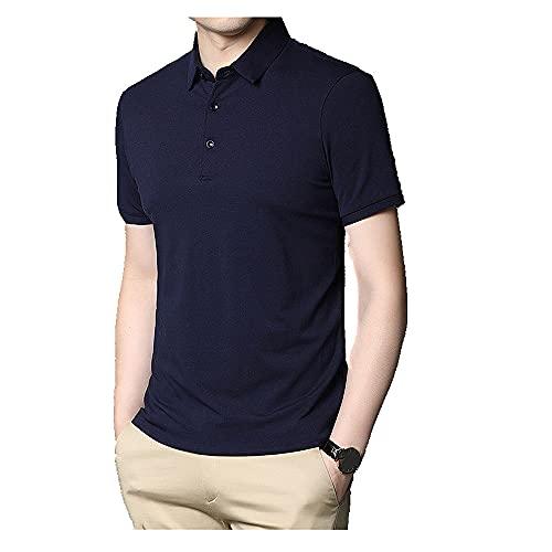 N\P Camiseta de manga corta de algodón para hombre