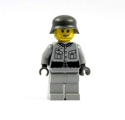 Custom Soldat 2.0 grau Figur bedruckt aus LEGO® Teilen R1/R3/F4