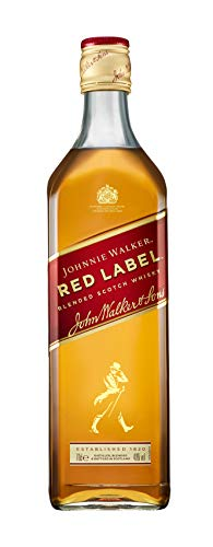 Johnnie Walker Red Label Blended Scotch Whisky, 0.7l