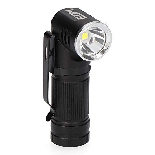 MINI LINTERNA LED PLEGABLE RECARGABLE 400 LUMEN