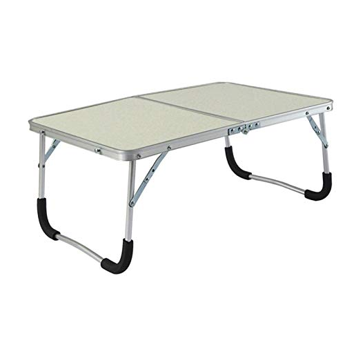 Alysays Convenient Foldable Laptop Table Portable Outdoor Camping Table Breakfast Serving Bed Tray with Legs Folds in Half with Inner Storage Space Sturdy (Color : 5)