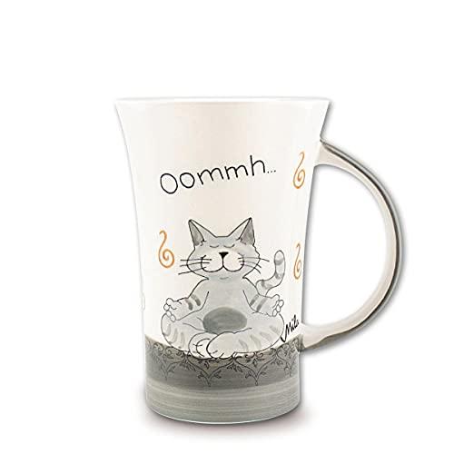 Mila Keramik-Becher, Coffee Pot, Oommh Katze Pure | MI-82402 | 4045303824027