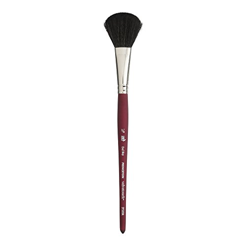 Princeton Artist Brush 4336958623 Oval Mop Princeton Velvetouch Artiste, Mixed-Media Brush for Acrylic, Watercolor & Oil, Series 3950 Luxury Synthetic, Size 3/4