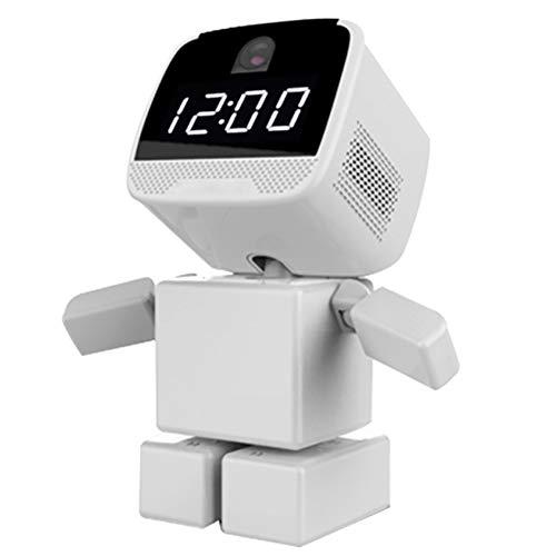 XZYP CáMara IP, CáMara De Robot Inteligente InaláMbrica HD 960P, Sistema De Vigilancia De Seguridad con DeteccióN De Movimiento, VisióN Nocturna, Audio De 2 VíAs, Rastreador De Movimiento