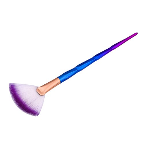Gazechimp Fächerpinsel / Highlighter Pinsel / Foundation Blending Brush / Blush Brush / Concealer Pulver Schminkpinsel für Berufsverfassungs oder Ausgangsgebrauch - Mehrfarbig