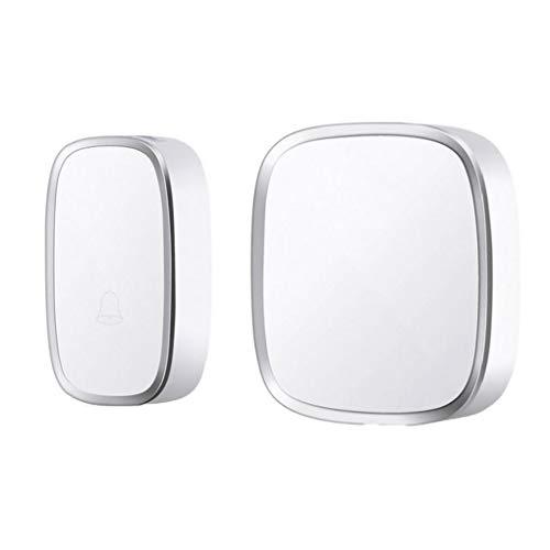 AAGOOD-drahtlose Türklingel Home Security Alarm/Willkommen Smart-Türklingel 3 in 1 Multi-Purpose-Tür-Knopf weiß