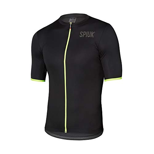 Spiuk Maillot M/C Anatomic Hombre Negro T. XL, Talla