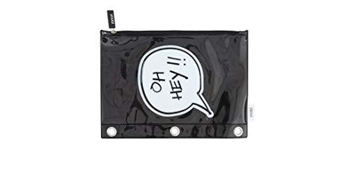 Yoobi OH Hey!! Zip Pencil Cases