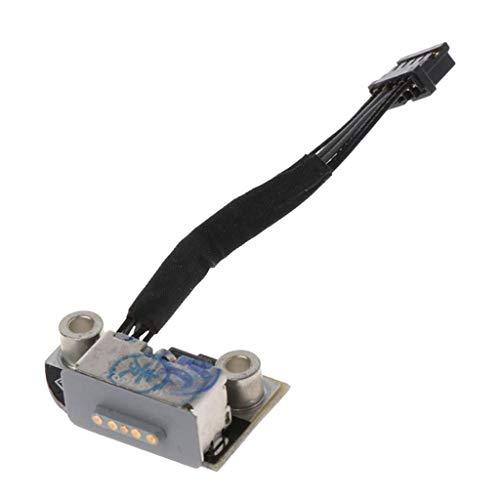 Gazechimp 3X Conector de Puerto de Carga, Enchufe DC Jack Placa para Macbook Pro A1278