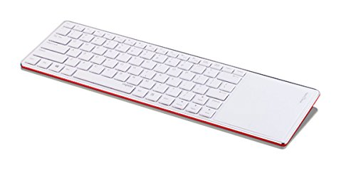 Rapoo Technologies E6700 Keyboard - Wireless - Bluetooth - RedTouchPad 1028-04Q0E-800