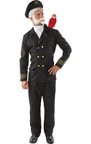 ORION COSTUMES Herren Captain Birdseye Matrosenuniform Maskenkostüm