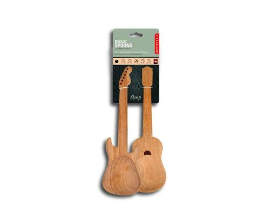 Rockin Spoons - Gitarren Salatbesteck