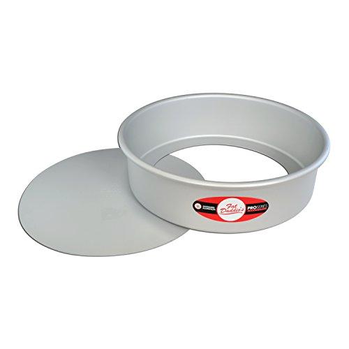 Fat Daddio's PCC-103 Round Cheesecake Pan, 10 x 3 Inch, Silver