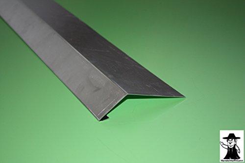 Traufblech 1 m lang Aluminium 0,8 mm (mittel)