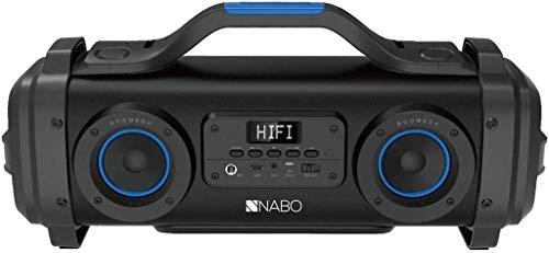 NABO BB 300 Minicadena música Uso doméstico Negro