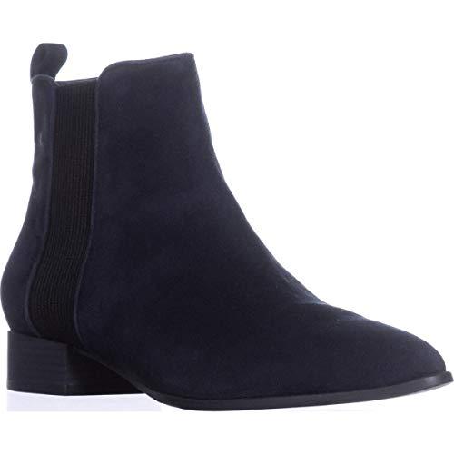 DKNY Frauen Talie Spitzenschuhe Chelsea Stiefel Blau Groesse 5 US /35.5 EU