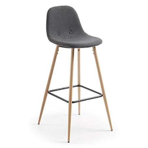 Barstoel, rugleuning barkruk, bar persoonlijkheid creatieve hoge stoelen, metaal nonchalant koffiestoel, ergonomische stoel