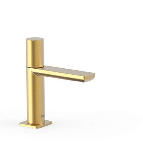 Grifo lavabo Loft Colors 1 agua o premezclada, maneta, 15,4 x 4,8 x 16,6 centímetros, color oro mate (Referencia: 20050301OM)