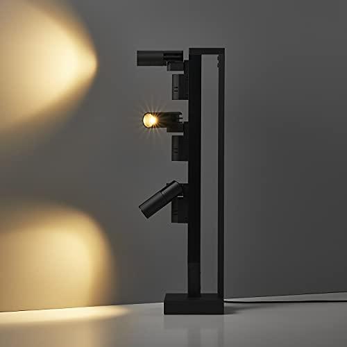 「美術館やホテルの上質な光を楽しむ、贅沢なおうち時間を」SALIOT pico STAND(サリオピコ スタンド)3W 3灯 LEDスマートライト スマートフォン操作 スポットライト デスクライト 間接照明