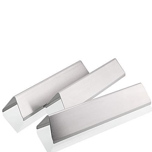 GFTIME 15,3 Zoll 7635 geschmacksriegel für Weber Spirit 200 Series E210 S210 E220 S220 (mit vorderseitigen knöpfen), 38,9 cm Edelstahl Flavorizer Bar Heizplattenbrenner Abdeckung Ersatzteile