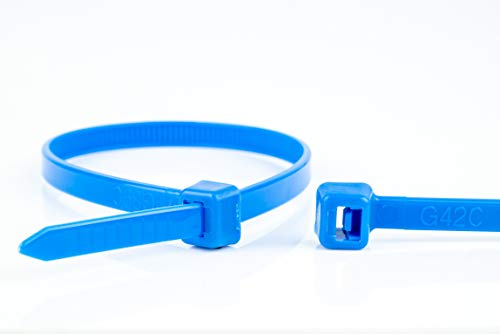 WKK Kabelbinder blau, 200x2,5mm, 100 Stück