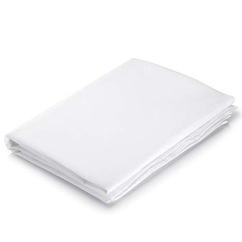 Neewer® 2 Yard x 60 Pulgadas/1,8 m x 1,5 m Nylon Seda Blanco sin Costuras Tela de difusión para fotografía Softbox, Tienda de luz y luz modificador