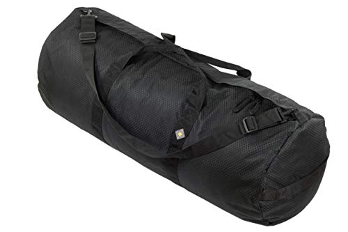 Northstar Bags SD1842 Diamond Ripstop Series Gear Duffle Bag 18in Diam 42in L 175 Liter, Midnight Black…