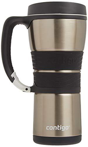 Contigo Extreme Vacuum Insulated Stainless Steel Travel Mug with Handle 16oz Silver