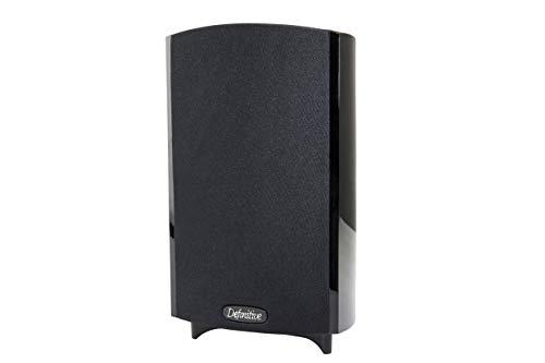 Definitive Technology ProMonitor 800-2-Way Satellite or Bookshelf Speaker for Home Theater Speaker System | Easy Mounting (Single, Black)