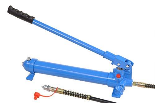 Pro-Lift-Werkzeuge Hydraulikpumpe Handbedienung Ölvolumen 500 cm³ hydraulische Handpumpe 550 bar Arbeitsdruck Ölmenge: 0,5l, hydraulic pump Druckzylinder