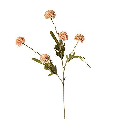 display0 1Pc DIY Tanzende Löwenzahn Simulation Künstliche Blumengirlande Pflanzen Ndoor Außerhalb Hängenden Pflanzer Home Hochzeitsdekoration Geschenk Hellrosa