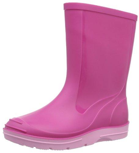 Beck Basic 486 - Botas plisadas para niños, Rosa (Pink 6), 35