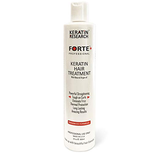 Keratin Forte Keratin Brazilian Keratin Hair Blowout Treatment Extra Strength 300ml with Moroccan...