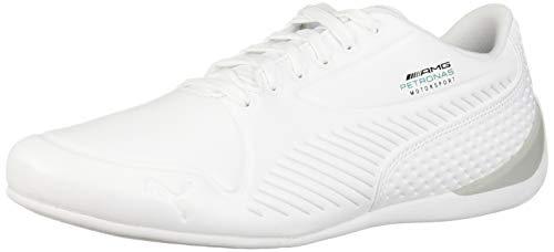 PUMA - Sneaker da uomo Mercedes Amg Petronas Drift Cat 7 Ultra, bianco (Infradito colorati estivi, con finte perline), 48.5 EU