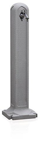 Terra Wasserhahn Tanker, Grau, 24x24x90 cm