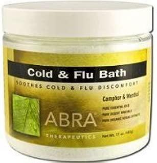 Abra Herbal Hydrotherapy Therapeutic Baths, 17 oz jar, Cold & Flu by Abra