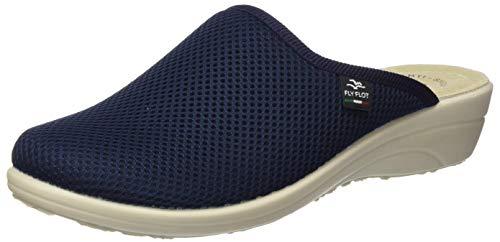 Flyflot 855284, Pantofole Donna, Blu 10, 42 EU