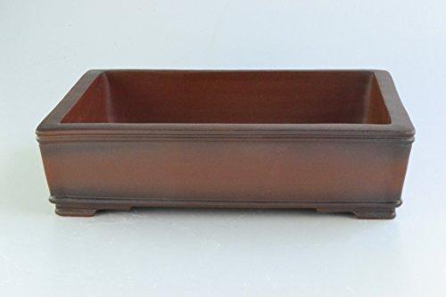 Unglazed Antiqued Extra Large 18' Rectangular Thin and Shallow Yixing Zisha Bonsai Pots (KPA19-18)