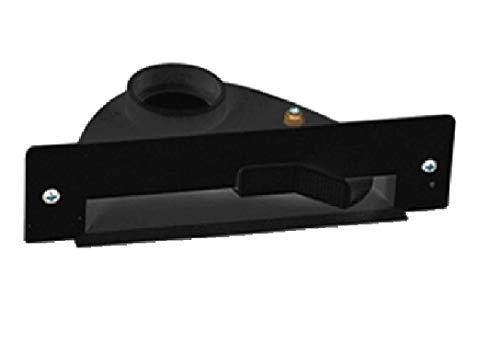 AERTECNICA Vac Pan PA415 stopcontact voor meubels/plinten zwart