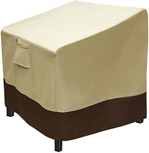 GOHHK Fundas para Muebles jardín, Juegos Muebles para sofás y sillas Fundas para Muebles jardín Fundas para Muebles Patio rectangulares Impermeables a Prueba Viento