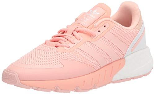 adidas Originals Women's ZX 1K Boost Sneaker, Pink/Vapour Pink/White