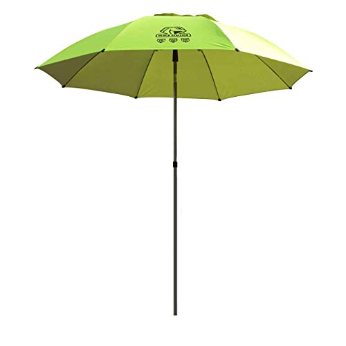 Black Stallion UB200 Core Flame-Resistant Industrial Umbrella, Hi-Vis Yellow/Lime