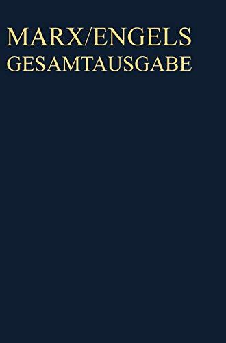 Karl Marx; Friedrich Engels: Gesamtausgabe (MEGA). Exzerpte, Notizen, Marginalien: November 1857 bis Februar 1858 - Partnerlink