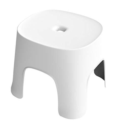 NONE Taburete de Plástico Antideslizante Taburete Grueso con Sillones Antideslizantes para El Hogar La Oficina
